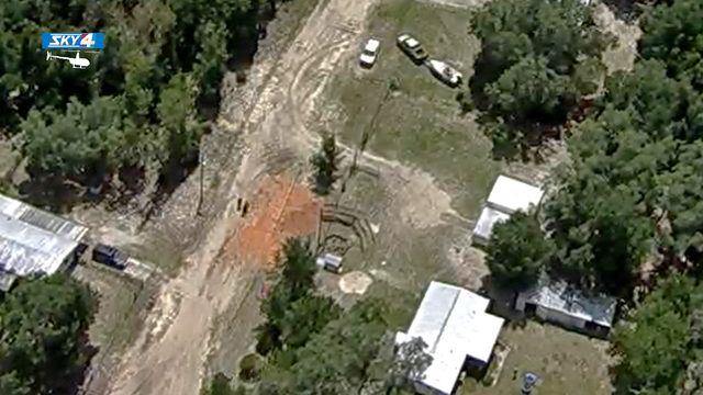 Sinkhole measuring 60 feet long opens up in Keystone Heights