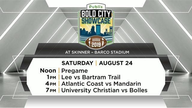 Publix Bold City Showcase: Glance at Saturday's matchups