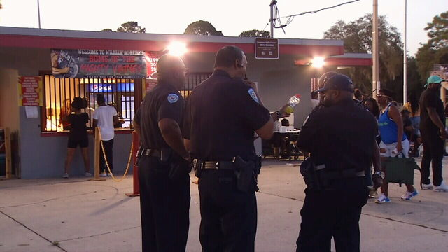 Fans welcome new security measures at Raines High football game