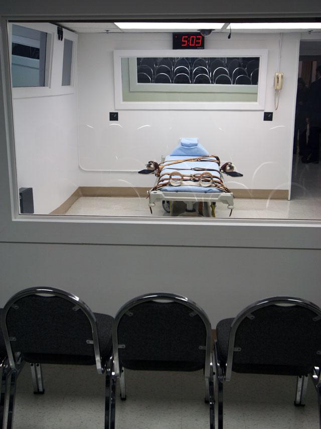 Florida death chamber