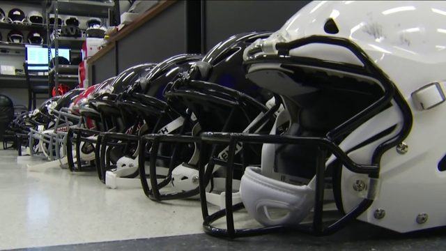 New research that looks into youth football helmets