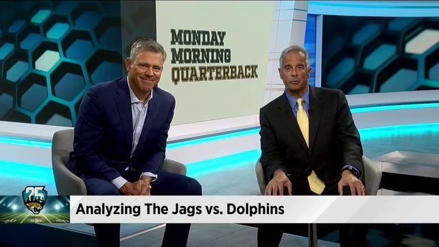 WATCH: Mark Brunell analyzes the Jags' loss to Miami