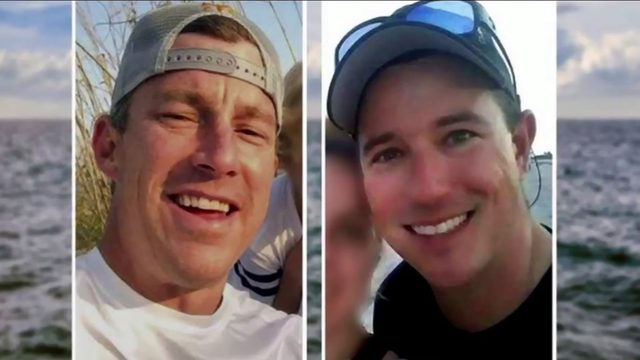 Families hosting a beach walk for missing firefighters