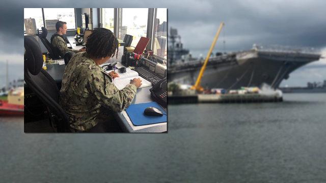 Jacksonville's 2 Navy bases prepare ahead of Dorian