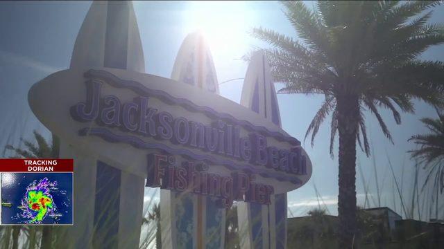 Jacksonville Beach prepares for Hurricane Dorian