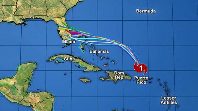 Dorian heads toward Florida. But where?