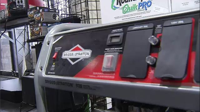 Business offers first responders deep discount on generators before Dorian