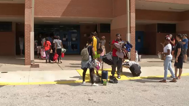 Not taking chances: Many heading to shelters ahead of Hurricane Dorian