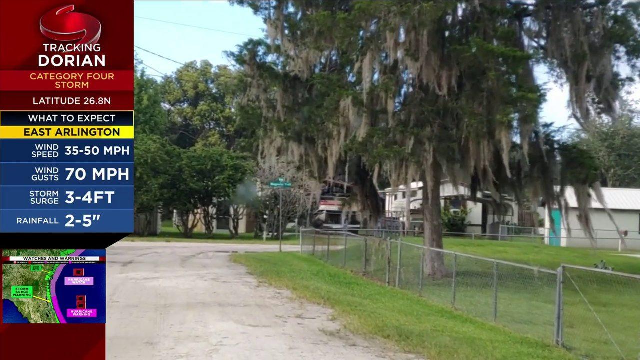 Putnam County evacuates Zone A