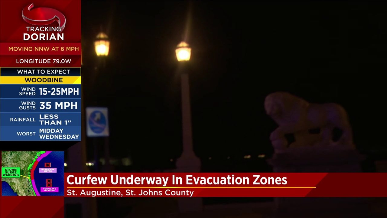 St. Johns County orders evacuation for Zones A & B