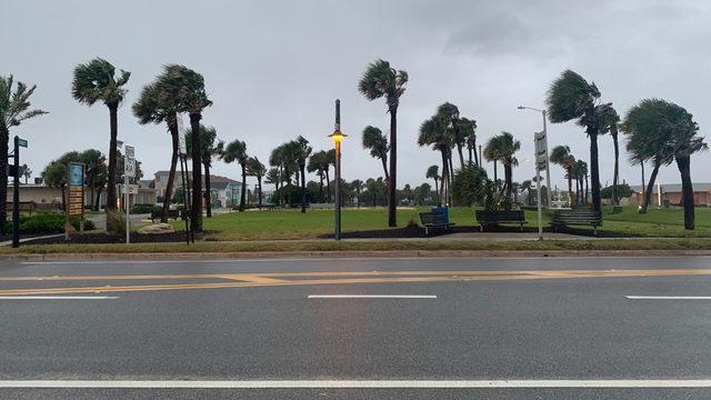 Dorian brings strong winds & heavy rains to Flagler Beach