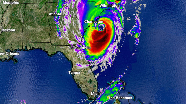 Re-energized Hurricane Dorian rakes Southeast US coast