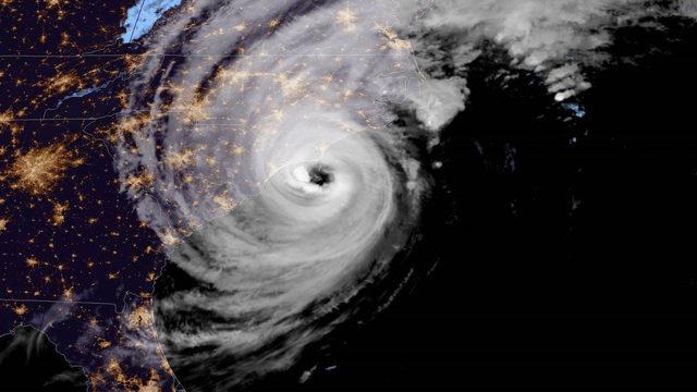 At Category 1 strength, Hurricane Dorian lashes North Carolina