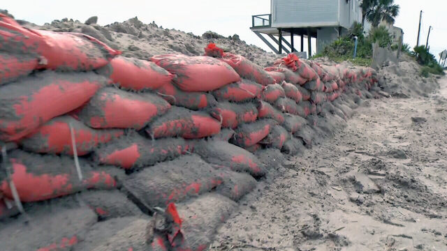 St. Johns County surveys hurricane damage to coastal highways