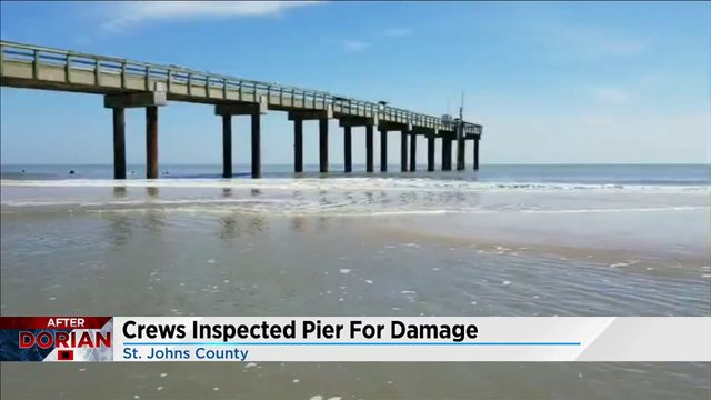 St. Augustine pier reopens after Hurricane Dorian