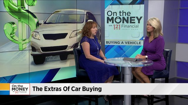 The extras of car buying