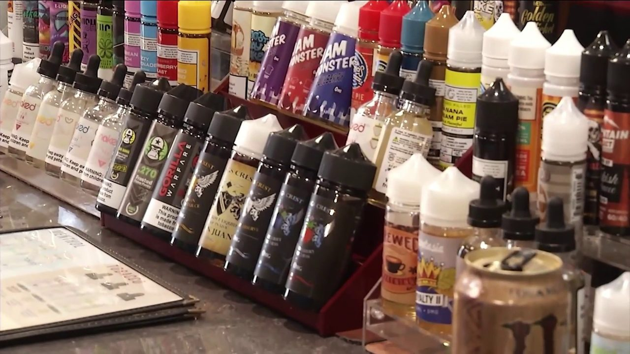 Vape shop owner calls for crackdown on black-market vape