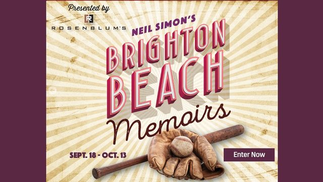 Brighton Beach Memoirs Ticket Giveaway