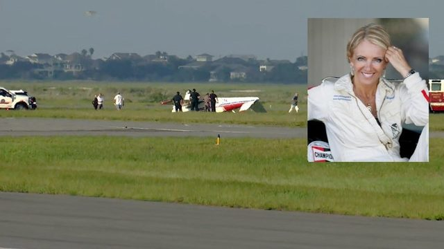 Stunt pilot Patty Wagstaff OK after plane flips on landing in St. Augustine