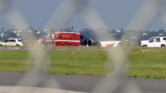 Deputies: Small plane flips at St. Augustine airport with 2 on board