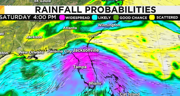 Tropical disturbance could be a rainmaker for Central Florida