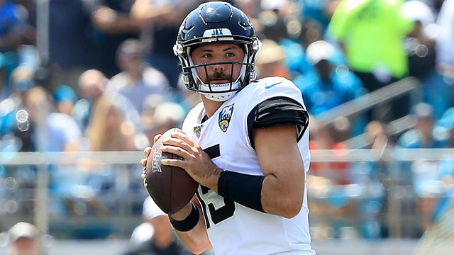 Rookie quarterback & his mustache slowly winning over Jaguars fans