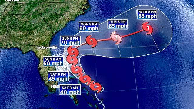 System gains strength, becomes Tropical Storm Humberto