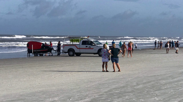 Crews search for missing swimmer off St. Augustine Beach