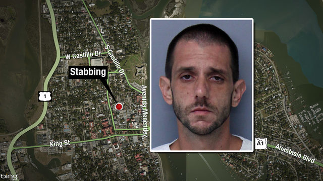 Police: Man arrested after downtown St. Augustine stabbing