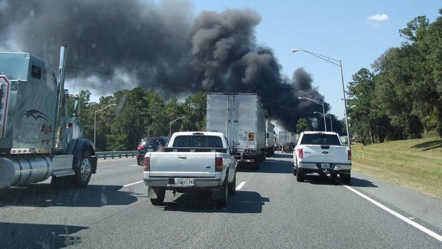 Deadly crash blocks all SB lanes of I-75 near Highway 441 exit