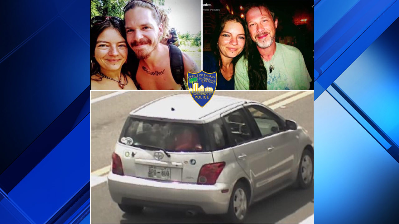 If you see this man and woman, call Jacksonville police