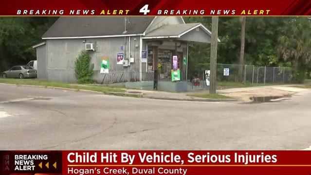 Boy hit by car was chased into street by dog