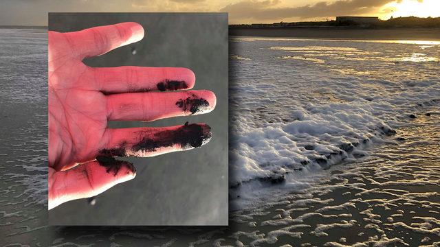 Long after ship overturns near Brunswick, oil is surfacing