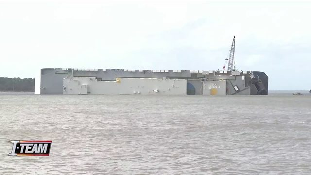 Several areas impacted by oil in St. Simons Sound
