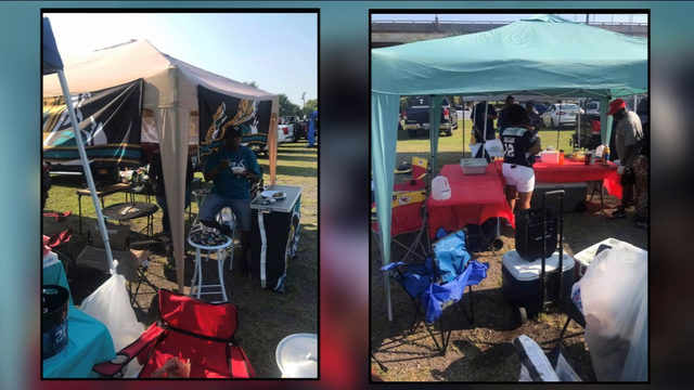 Jaguars fans must stop tailgating within 30 minutes of kickoff