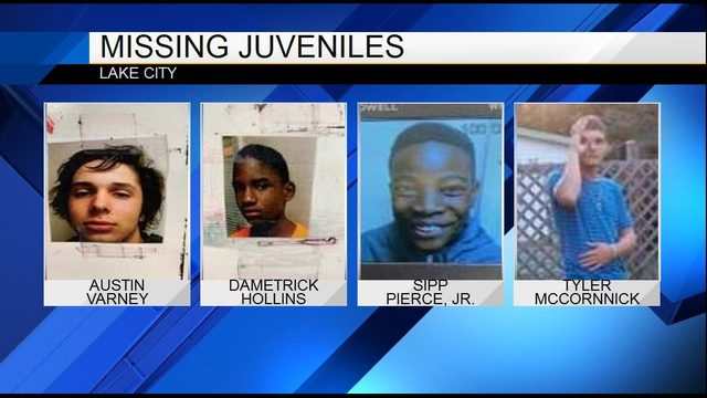 Lake City police searching for 4 missing juveniles