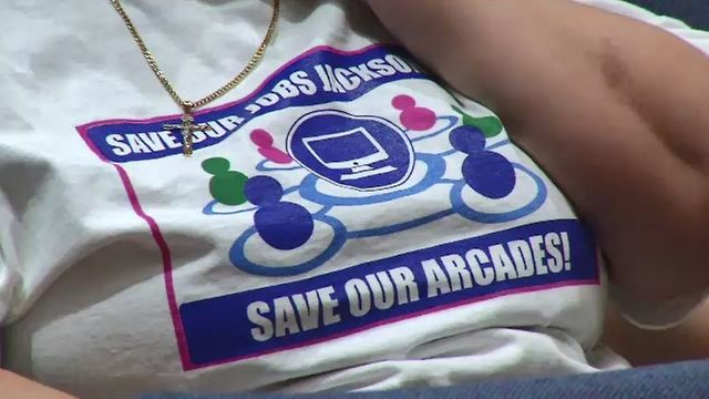 Supporters ask Jacksonville City Council to save adult arcades