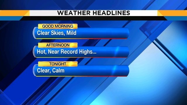 Autumn started on Monday but the heat beat is back!