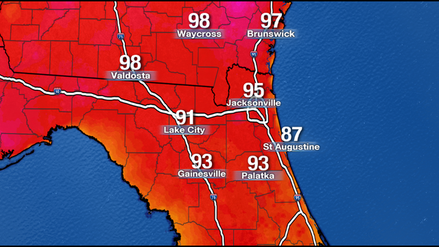 Record-breaking heat today, more to follow