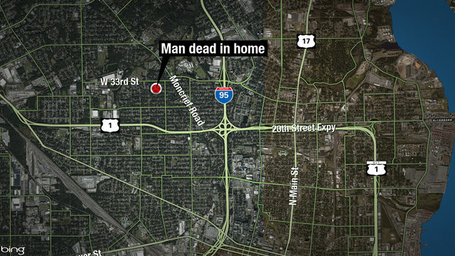 Man dead of gunshot wound in home off Moncrief
