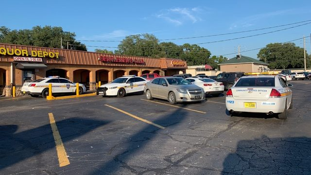 Police officers raid Wacko's Jacksonville on Emerson Street