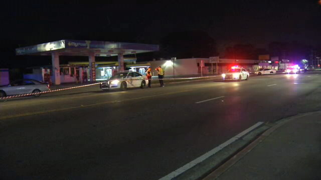 Man hospitalized with life-threatening injuries after hit-and-run