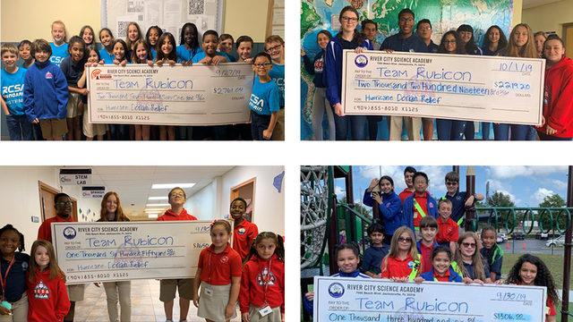 Jacksonville students raise $8K to help Bahamas after Hurricane Dorian