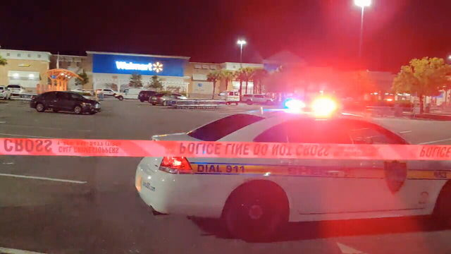 Officer shoots, kills man outside Northside Walmart
