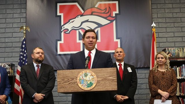 Gov. DeSantis proposes raising starting salary for teachers to $47,500