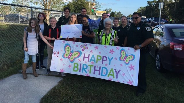 Beloved 90-year-old crossing guard remembered for her grace
