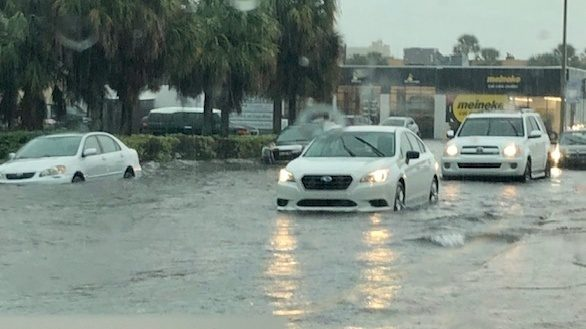 Day of rainy weather brings heavy flooding to Jacksonville area