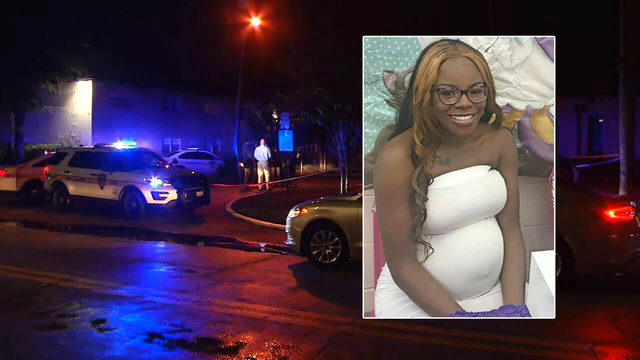 Baby doing well after surviving shooting that killed pregnant mother,…