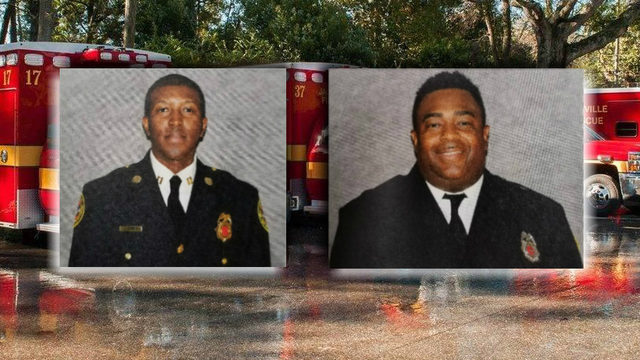 Fire chief: 1 of 2 firefighters slashed by patient nearly died