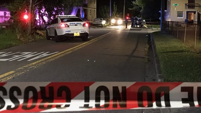Man, woman wounded in shooting on West 5th Street
